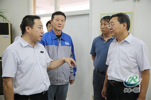 区委书记常卫、区长卢宇国带队检查中非论坛北京峰会服务保障工作